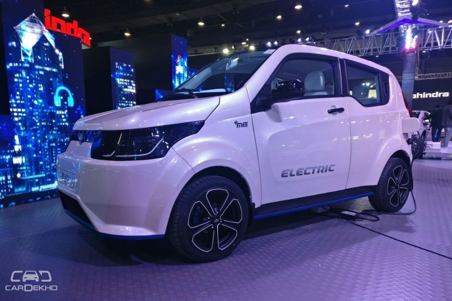 How Much Is Car Insurance A Month >> Auto Expo 2018: Mahindra's e2o NXT (Facelift) Unveiled | CarDekho.com