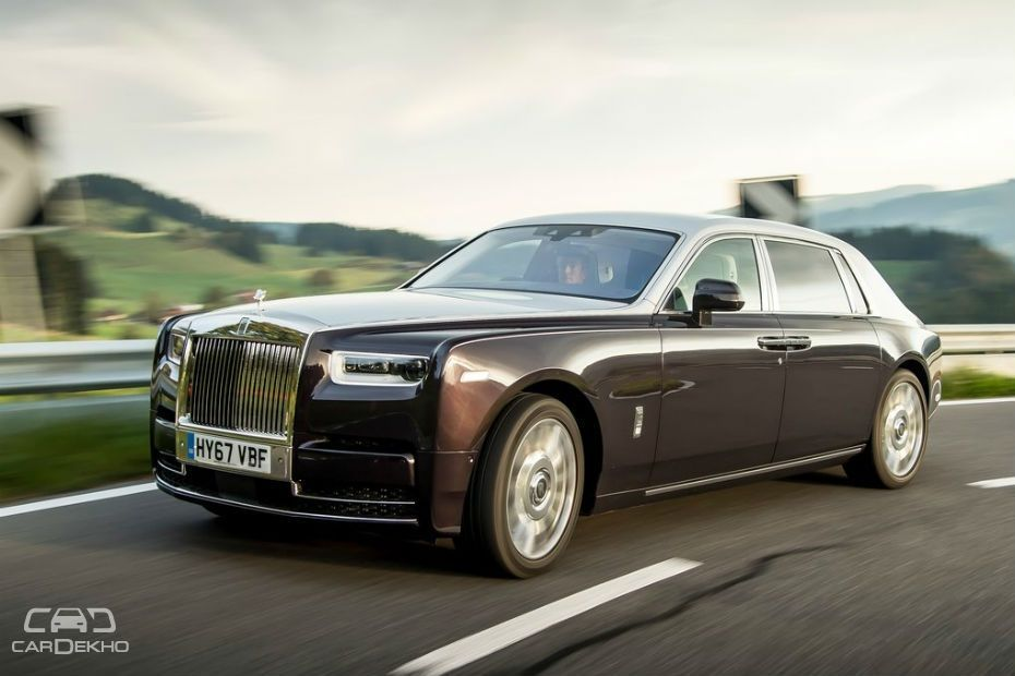 In Pics: 2018 Rolls-Royce Phantom - India's Most Expensive ...
