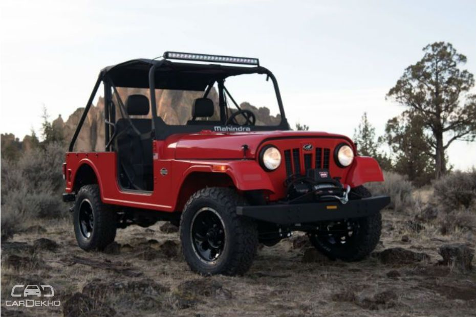 Mahindra Reveals Thar-Based Roxor Off-Road SUV But It's Not For India