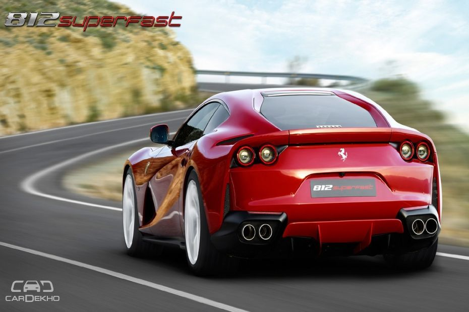 Ferrari 812 Superfast Launched In India At Rs 5.20 Crore