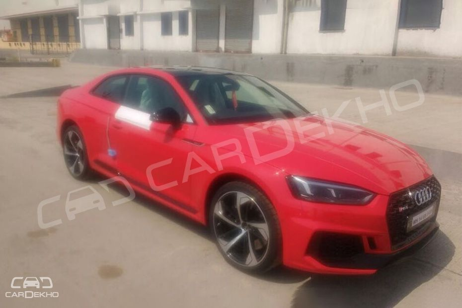 Audi RS 5 Coupe spotted in India