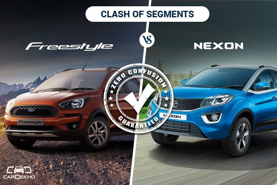 Clash Of Segments: Ford Freestyle vs Tata Nexon- Which Car To Buy?