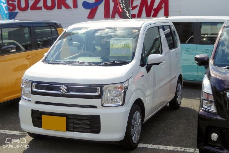 Suzuki 2017 Japan-spec WagonR
