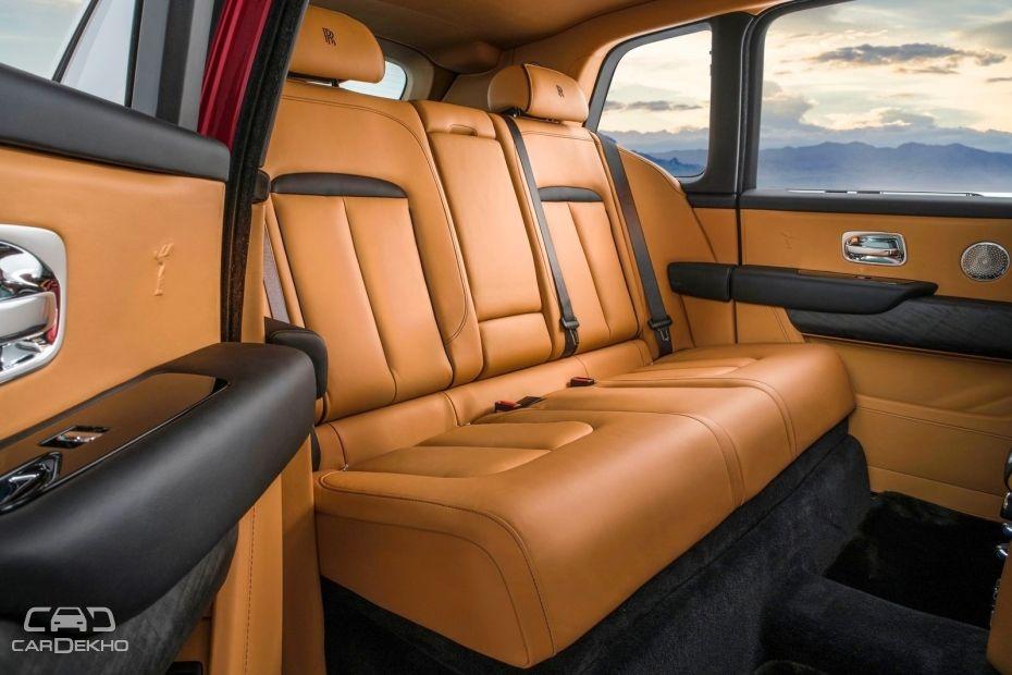 Rolls-Royce Cullinan Bench Rear Seat