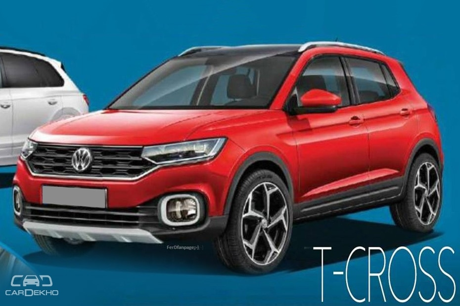 vw t cross hyundai creta rival leaked could be india bound. Black Bedroom Furniture Sets. Home Design Ideas