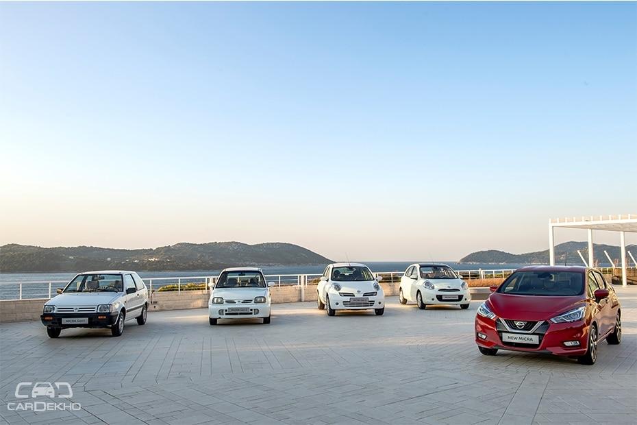 Nissan Micra Generations