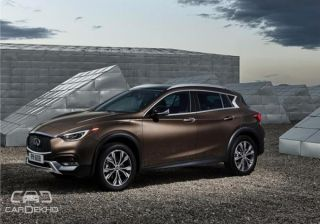 Infiniti QX30 Crossover Revealed