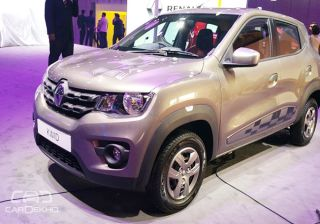 Renault Kwid 1 Litre AMT Makes India Debut at 2016 Auto Expo