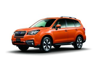Subaru Forester 2017 Launched at Thailand Motor Show