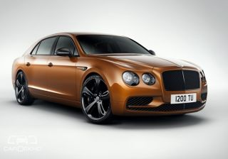 bentley unveils 635ps flying spur w12 s