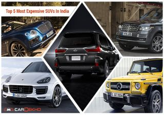 Top 5 Most Expensive SUVs In India