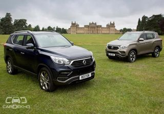 Mahindra Ssangyong Cars Check Offers Rexton Prices Photos