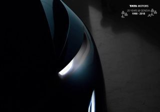 Tata's Third Concept Car After H5X, 45X To Be Showcased At Geneva Motor Show 2018