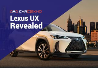 Lexus UX SUV: First Official Photo, Video Revealed