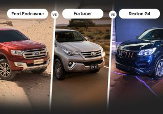 Mahindra Rexton Vs Toyota Fortuner Vs Ford Endeavour: Specifications Comparison