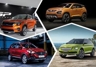 8 Upcoming Hyundai Creta Rivals: Kia SP, MG SUV, Tata H5X, Skoda Vision X, VW T-Cross & More
