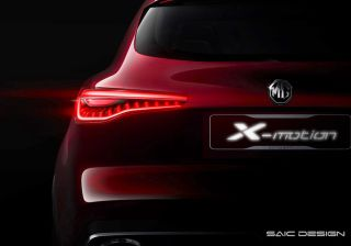 MG Teases Full-Size X-Motion SUV Concept That Could Be India-Bound