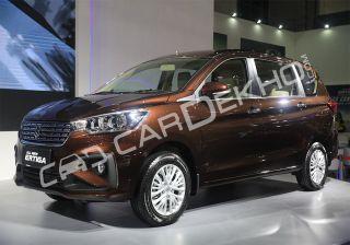 New Suzuki Ertiga 2018 - First Look In 18 Images