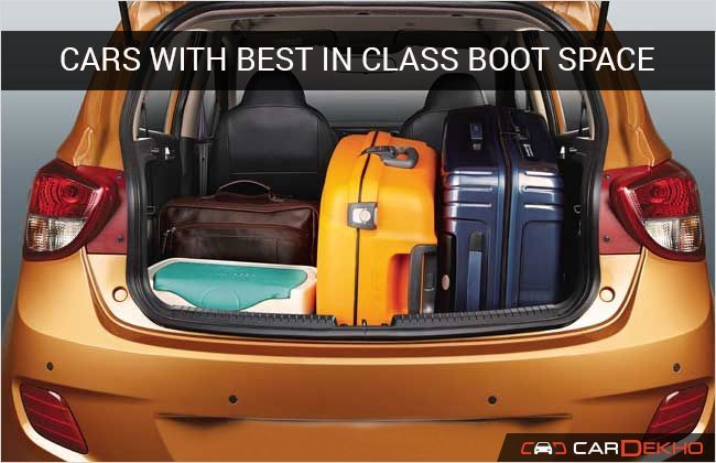 Cars With Best In Class Boot Space Features Cardekho Com