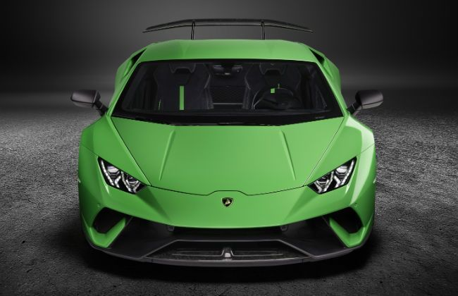 lamborghini huracan performante launching on april 7. Black Bedroom Furniture Sets. Home Design Ideas