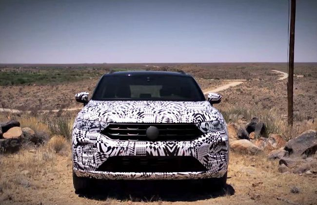 Volkswagen Officially Teases T-Roc Compact SUV