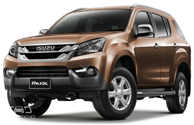 Isuzu MUX Launched At Rs 2399 Lakh  CarDekhocom