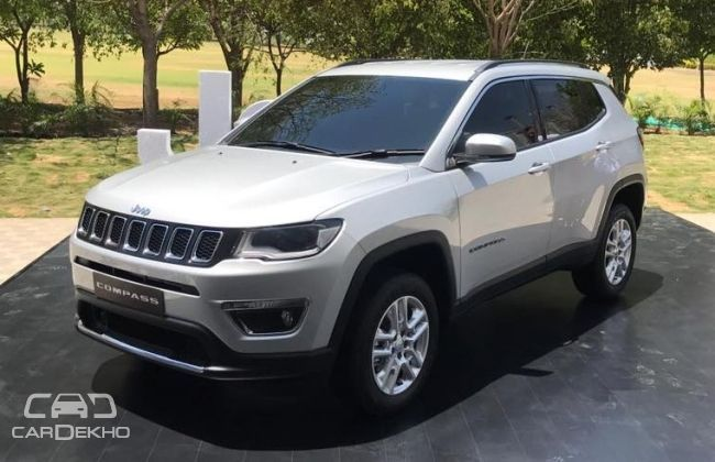 jeep compass launching in august. Black Bedroom Furniture Sets. Home Design Ideas