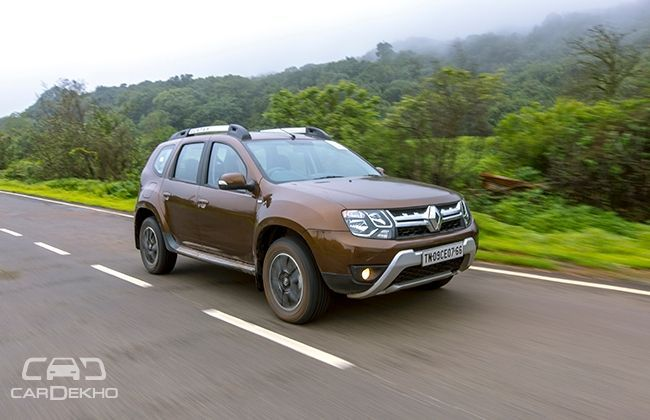 renault duster prices slashed after gst. Black Bedroom Furniture Sets. Home Design Ideas