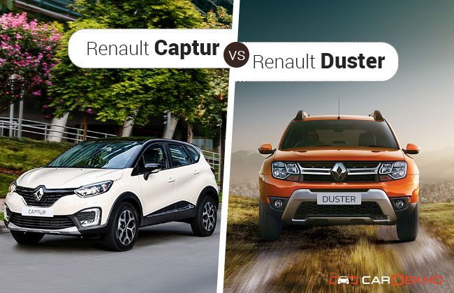 renault captur vs duster. Black Bedroom Furniture Sets. Home Design Ideas