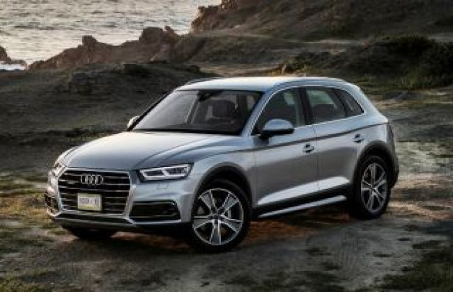 All New Audi Q5 Spotted In India Cardekho Com