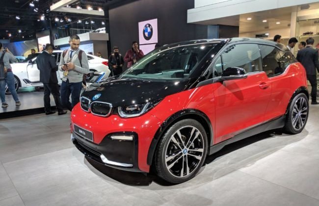 Bmw I3s Showcased At Auto Expo 2018 Cardekho Com
