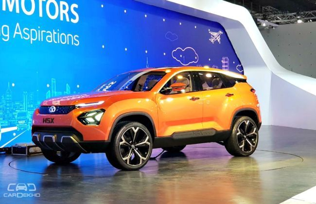 Tata reveals 4 new concept cars based on h5x and 45x for Tata motors future cars