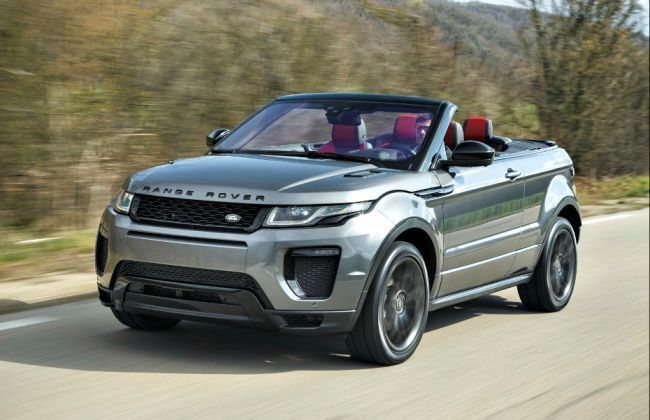 range rover evoque convertible launched in india. Black Bedroom Furniture Sets. Home Design Ideas