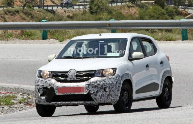 Renault Kwid Spied With Camouflage - Facelift Or Electric?