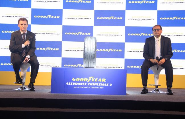 goodyear assurance triplemax 2 tyre launched in india. Black Bedroom Furniture Sets. Home Design Ideas