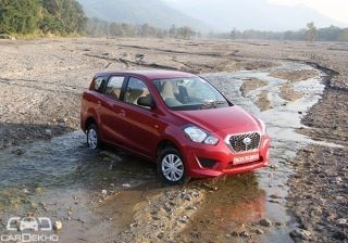 Datsun Go+ : First Drive Report
