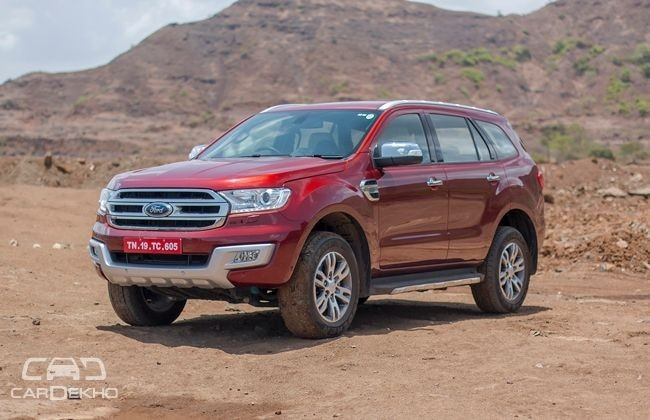 Ford Begins Testing 2018 Endeavour Facelift Cardekho Com