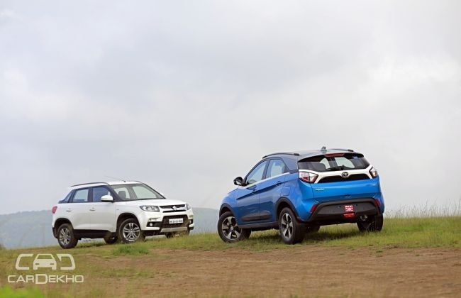 Maruti Vitara Brezza Vs Tata Nexon - Which SUV Offers Better Space?