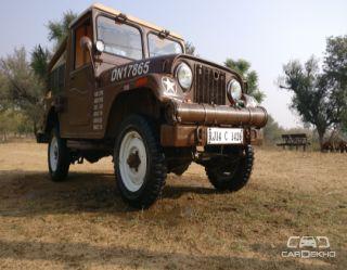 1990 Mahindra Jeep MM 540 DP