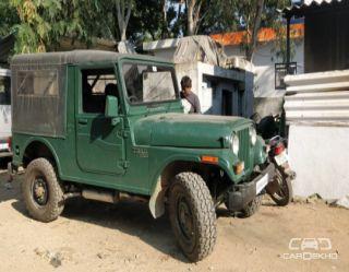 1991 Mahindra Jeep MM 550 XDB