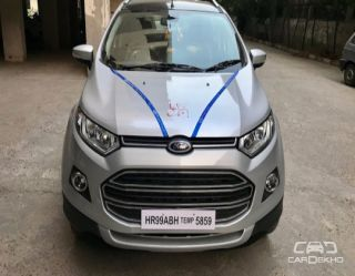2017 Ford EcoSport 1.5 TDCi Platinum Edition