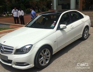 2012 Mercedes-Benz C-Class C 220 CDI BE Avantgarde