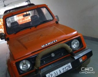 2003 Maruti Gypsy King Soft Top BSII